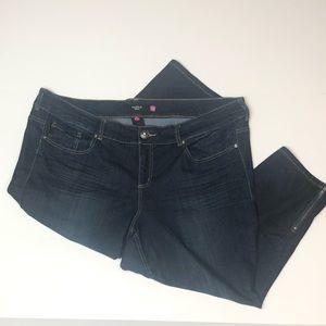 torrid Jeans - Torrid Zipper Ankle Jeans